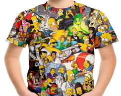 Camiseta Infantil Os Simpsons MD02