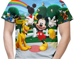 Camiseta Masculina Turma do Mickey Mouse