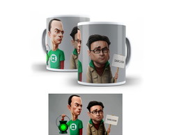 Caneca The Big Bang Theory - Caricatura