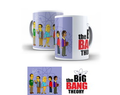Caneca The Big Bang Theory - Simpsons