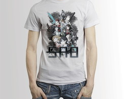 Camisa Anime Camiseta Sword Art Online