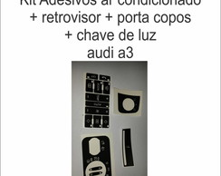 kit adesivo painel audi a3