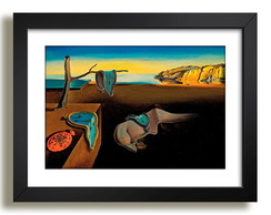 Quadro Salvador Dali Persistencia Decor