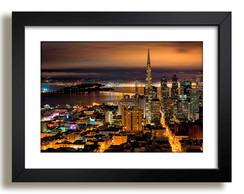 Quadro San Francisco California Nova York Decoracao Sala