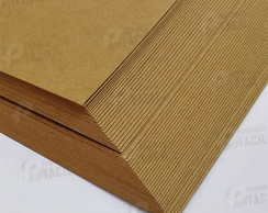 Papel Kraft 80g 90g para Scrapbook 30x30 fino scrap 100 folh