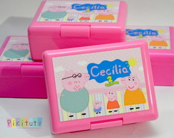 Caixa Box (Mini Lancheira) Peppa
