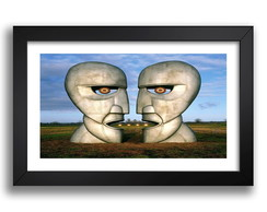 Quadro Pink Floyd 67x47cm Division Bell