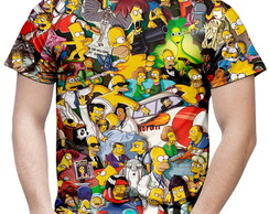 Camiseta Masculina Os Simpsons MD02