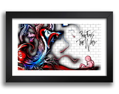 Quadro Pink Floyd 67x47cm The Wall Rock