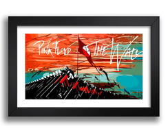 Quadro Pink Floyd The Wall 65x45cm Musica Decoracao K6