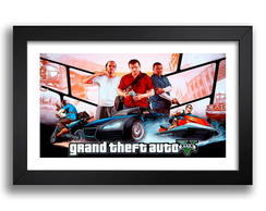 Quadro Gta 5 Game 67x47cm Decoracao sala
