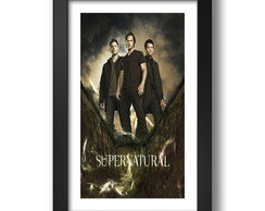 Quadro Supernatural Filme Series TV G9