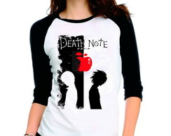 Camiseta Anime Death Note V02 3/4