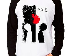 Camiseta Anime Death Note V02 Raglan