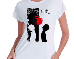 Camiseta Babylook Anime Death Note V02