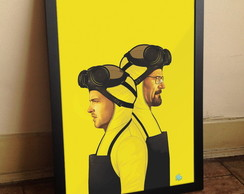 Quadro Breaking Bad A3