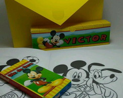 Kit colorir maleta Mickey
