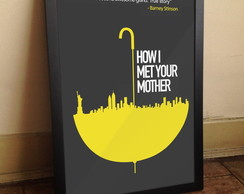 Quadro How I Met Your Mother A3
