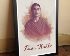 Quadro Frida Kahlo [Exclusivo] A3