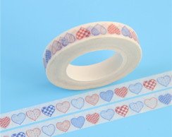 Fita adesiva decorada - Washi tape