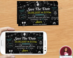 Save The Date Digital 30 anos