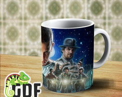 Caneca Porcelana Stranger Things