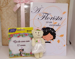 Kit de colorir florista