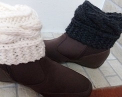 Boot cuff ou polainas