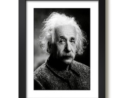 Quadro Albert Einstein Física Decorativo Escritorio Paspatur