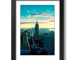 Quadro Nova York Empire State Building Decoracao Sala Quarto