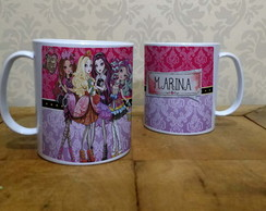 Caneca Ever after High plástica