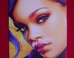 Placa Decorativa Rihanna 1mm