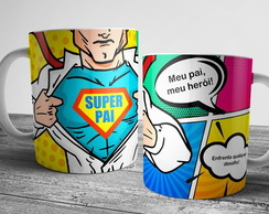 Caneca de Super Pai 325ml