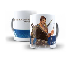 Caneca Hanzo Overwatch 325ml
