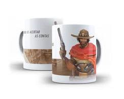 Caneca Mccree Overwatch 325ml