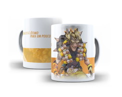 Caneca Junkrat Overwatch 325ml