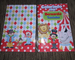 revista colorir circo 20x14