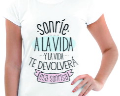 T'shirt Baby Look Personalizada Frases