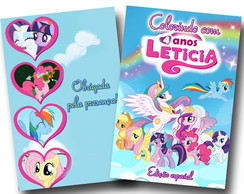 revista colorir my little pony