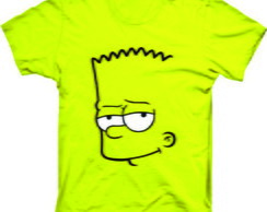 Camiseta Os Simpsons Bart