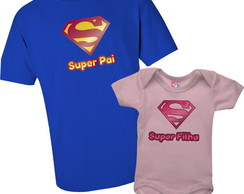 Kit Super Pai e Super Filha