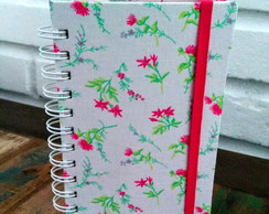 Mini Bullet Journal Flores Rosa Pink