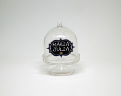 Mini-cúpula com texto - chalkboard party
