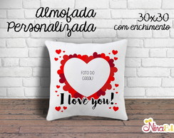 Almofada I Love You Com Foto