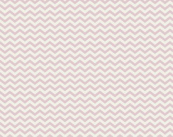 Tricoline Estampado Mini Chevron Rosa