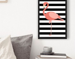 Placas Decorativas Mdf Flamingo Listras