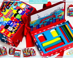 Kits e revista colorir