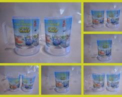 Caneca de 300ml Super Wings 01
