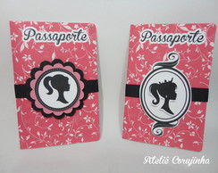 Convite Passaporte Barbie Paris