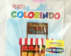 Kit colorir - Quitandinha